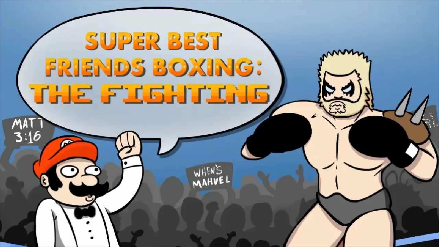 Super Best Friends Boxing: The Fighting | Best Friends Wiki | FANDOM