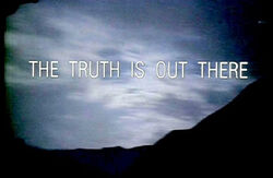 The-truth-is-out-there-x-files