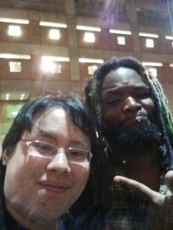 Mike0Dude and Woolie Selfie