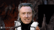 Kombat Time Ninja Christopher Walken