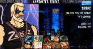Character Select Zubaz
