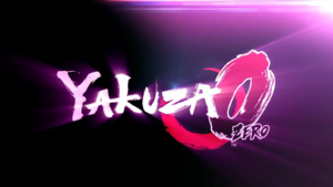 Yakuza 0 Title