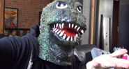 TOP TEN MOVIES Matt Godzilla Mask