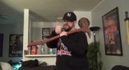 Matt fire axe