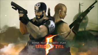 Resident Evil 5 Desperate Escape Zaibatsupedia Fandom Desperate escape was one of the two extra campaign chapters for resident evil 5, available as a download. resident evil 5 desperate escape