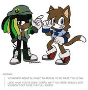 Sonic Woolie and Liam by Zero Liquid 2013