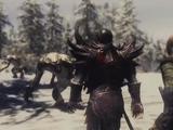 Two Best Friends in Skyrim: Troll fight