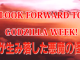 Godzilla Week
