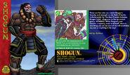 Shogun Zaibatsu Card