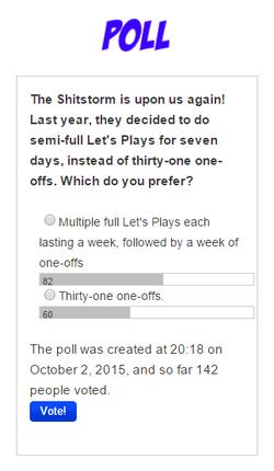 Poll October 2015