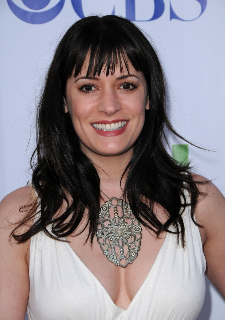 Paget Brewster chest
