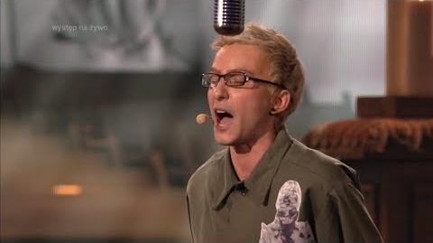 Marta Wiejak jako Chester Bennington Linkin Park - Twoja Twarz Brzmi Znajomo