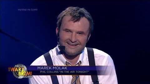 Marek Molak jako Phil Collins - Twoja Twarz Brzmi Znajomo