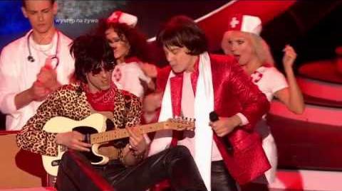 Mariusz Totoszko jako Mick Jagger (The Rolling Stones) - Twoja Twarz Brzmi Znajomo