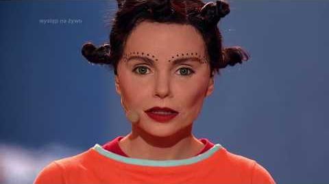Izabella Miko jako Björk - Twoja Twarz Brzmi Znajomo