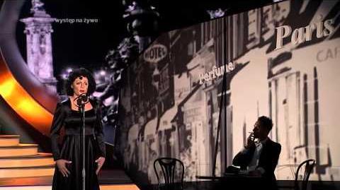 Twoja Twarz Brzmi Znajomo - 01x07 - Mariusz Totoszko jako Edith Piaf