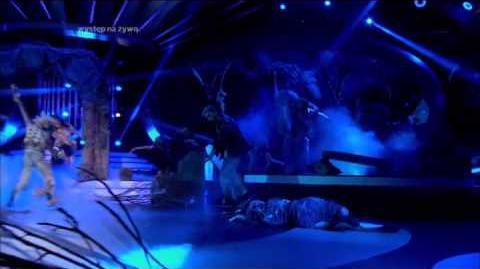 Agnieszka Włodarczyk jako Michael Jackson - Twoja Twarz Brzmi Znajomo