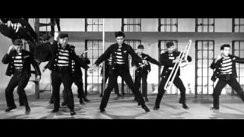 Elvis Presley. Jailhouse Rock.( From the movie Jailhouse Rock.1957.) HD
