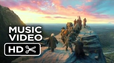"""The Hobbit The Desolation of Smaug - Ed Sheeran Music Video - """"I See Fire"""" (2013) HD"""