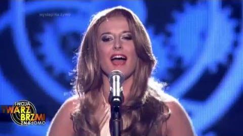 Agnieszka Twardowska jako Celine Dion - Twoja Twarz Brzmi Znajomo
