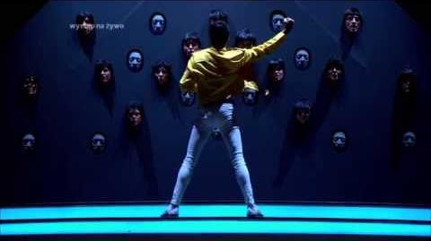 Mariusz Totoszko jako Freddie Mercury - Twoja Twarz Brzmi Znajomo