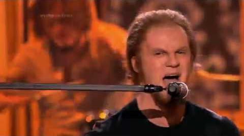 Krzysztof Kwiatkowski jako James Hetfield Metallica - Twoja Twarz Brzmi Znajomo-2