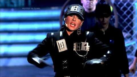 Katarzyna Glinka jako Janet Jackson Twoja twarz brzmi znajomo