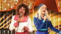 Anna Guzik, Janek Traczyk, Krzysztof Szczepaniak i Filip Lato jako ABBA - Twoja Twarz Brzmi Znajomo