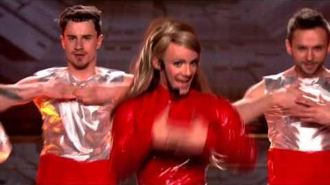 Jerzy Grzechnik jako Britney Spears - Twoja Twarz Brzmi Znajomo