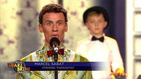 Marcel Sabat jako Stromae - Twoja Twarz Brzmi Znajomo