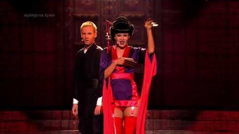 Aleksandra Gintrowska i Marcel Sabat jako Rihanna i Chris Martin - Twoja Twarz Brzmi Znajomo