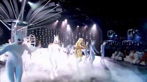 Twoja twarz brzmi znajomo - 01x01 - Artur Chamski jako Lady Gaga