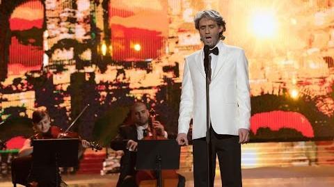 Jerzy Grzechnik jako Andrea Bocelli - Twoja Twarz Brzmi Znajomo