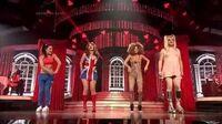 Bartek, Monika, Zosia, Michał jako Spice Girls Twoja twarz brzmi znajomo