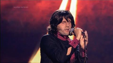 Robert Koszucki jako Jim Morrison - Twoja Twarz Brzmi Znajomo