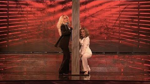 Marta Wiejak i Iga Krefft jako Madonna i Britney Spears - Twoja Twarz Brzmi Znajomo