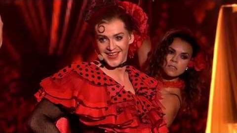 Krzysztof Kwiatkowski jako Madonna - Twoja Twarz Brzmi Znajomo