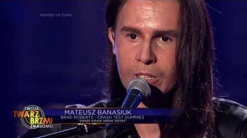 Mateusz Banasiuk jako Crash Test Dummies - Twoja Twarz Brzmi Znajomo
