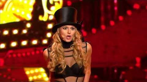 Aleksandra Gintrowska jako Britney Spears - Twoja Twarz Brzmi Znajomo