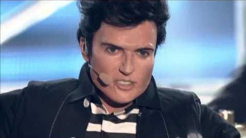 Katarzyna Glinka jako Elvis Presley Twoja twarz brzmi znajomo