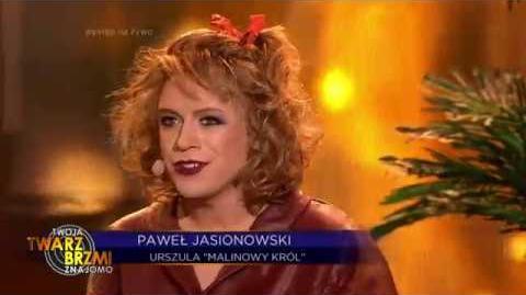 Paweł Jasionowski jako Urszula - Twoja Twarz Brzmi Znajomo