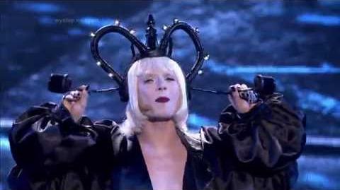 Mateusz Banasiuk jako Lady Gaga - Twoja Twarz Brzmi Znajomo