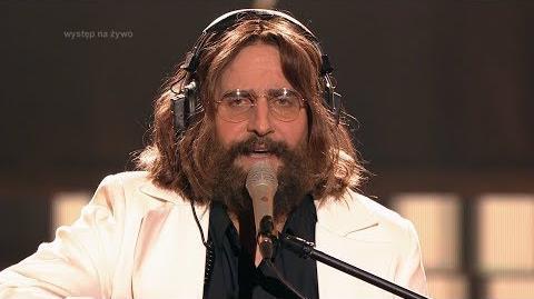 Robert Koszucki jako John Lennon - Twoja Twarz Brzmi Znajomo