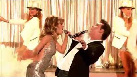 Katarzyna i Krzysztof jako Kylie Minogue i Robbie Williams Twoja twarz brzmi znajomo