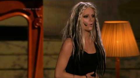 Kasia Popowska jako Christina Aguilera - Twoja Twarz Brzmi Znajomo