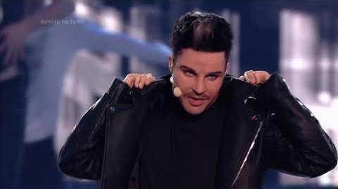 Natalia Krakowiak jako Adam Lambert - Twoja Twarz Brzmi Znajomo