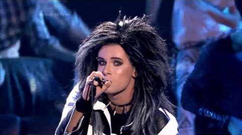 Mateusz Banasiuk jako Bill Kaulitz Tokio Hotel - Twoja Twarz Brzmi Znajomo