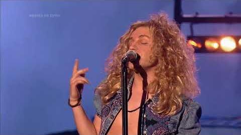 Filip Lato jako Robert Plant Led Zeppelin - Twoja Twarz Brzmi Znajomo