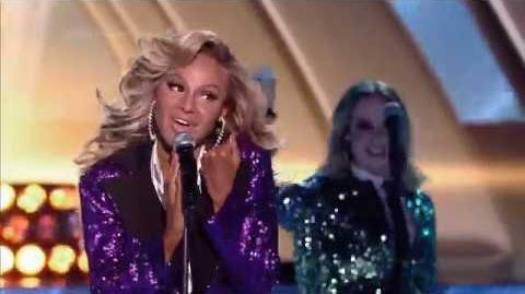 Natalia Krakowiak jako Beyonce - Twoja Twarz Brzmi Znajomo