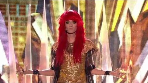 Jerzy Grzechnik jako Florence and The Machine - Twoja Twarz Brzmi Znajomo